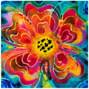 Colorful Flower Art Summer Love Tshirts are here