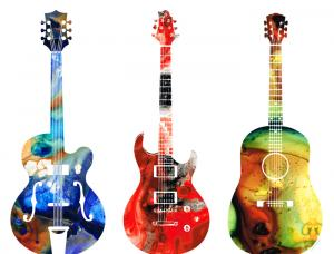 Colorful Guitars Threesome - Music For Your Eyes